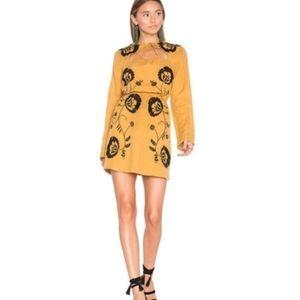 Tularosa Keenan embroidered dress S